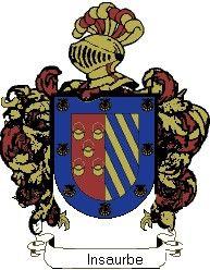 Escudo del apellido Insaurbe
