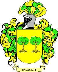 Escudo del apellido Insausti