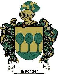 Escudo del apellido Instander