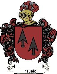 Escudo del apellido Insuela