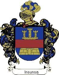 Escudo del apellido Insunsa