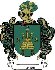 Escudo del apellido Interian