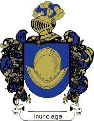 Escudo del apellido Inunciaga