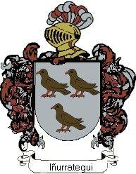 Escudo del apellido Iñurrategui
