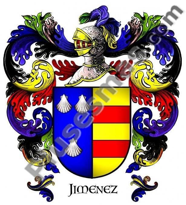 Escudo del apellido Jiménez