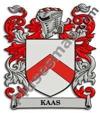 Escudo del apellido Kaas