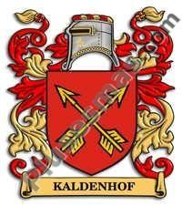 Escudo del apellido Kaldenhof
