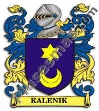 Escudo del apellido Kalenik