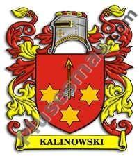 Escudo del apellido Kalinowski