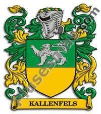 Escudo del apellido Kallenfels