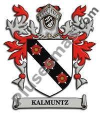 Escudo del apellido Kalmuntz