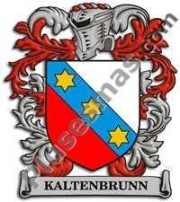 Escudo del apellido Kaltenbrunn
