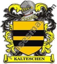 Escudo del apellido Kalteschen