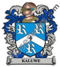 Escudo del apellido Kaluwe
