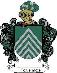 Escudo del apellido Kalvermater