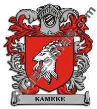 Escudo del apellido Kameke