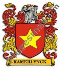 Escudo del apellido Kamerlynck
