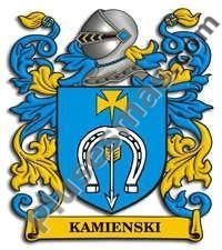 Escudo del apellido Kamienski