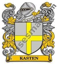 Escudo del apellido Kasten