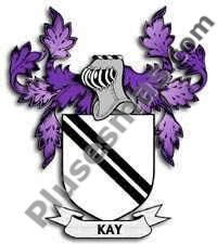 Escudo del apellido Kay