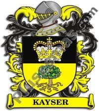 Escudo del apellido Kayser