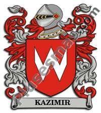 Escudo del apellido Kazimir