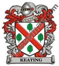 Escudo del apellido Keating