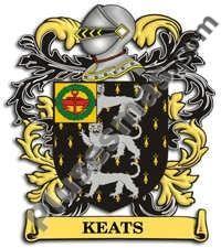 Escudo del apellido Keats