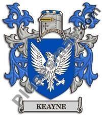 Escudo del apellido Keayne
