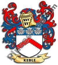 Escudo del apellido Keble