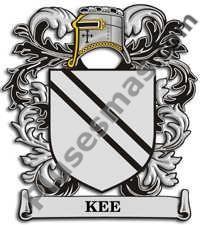 Escudo del apellido Kee