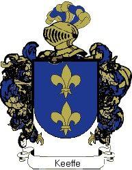 Escudo del apellido Keeffe
