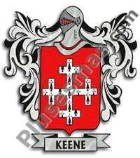 Escudo del apellido Keene