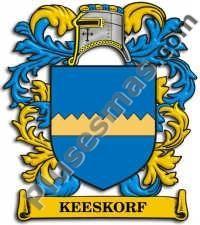 Escudo del apellido Keeskorf