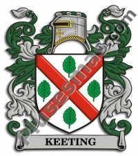 Escudo del apellido Keeting