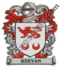 Escudo del apellido Keevan