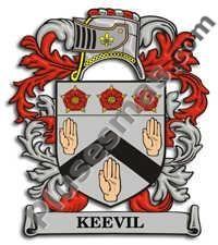 Escudo del apellido Keevil