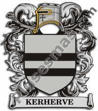 Escudo del apellido Kerherve