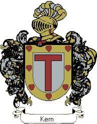 Escudo del apellido Kern