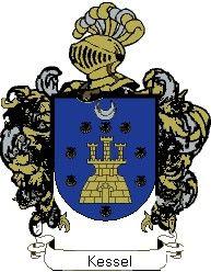 Escudo del apellido Kessel