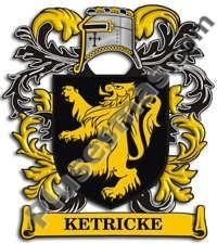 Escudo del apellido Ketricke
