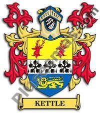Escudo del apellido Kettle