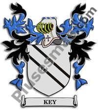 Escudo del apellido Key