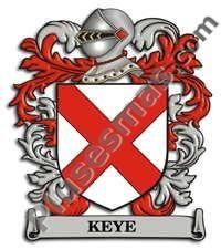 Escudo del apellido Keye