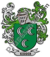 Escudo del apellido Kidder
