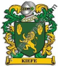 Escudo del apellido Kiefe