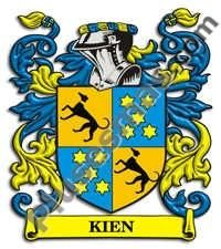 Escudo del apellido Kien