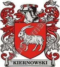 Escudo del apellido Kiernowski