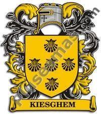 Escudo del apellido Kiesghem