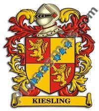Escudo del apellido Kiesling